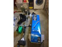 Mac allister petrol strimmer - only used ONCE! Less than 2 months old!