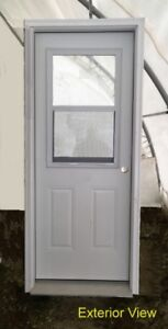 """Entry Door (36"""" x 80"""") with Full Frame and Venting D/L - LHSI"""
