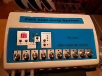 Electro Muscular Stimulation EMS machine