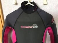 Girls wetsuit age 14