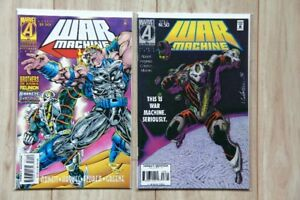 MARVEL A Universe War Machine Comics 1995 & 1996