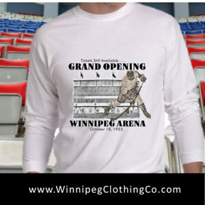 WINNIPEG ARENA T Shirt | Relive your Youth with this Classic Tee