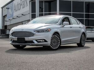 2017 Ford Fusion AWD| Heated Leather Seats| Rear View Cam.|