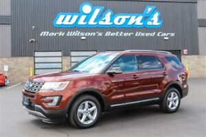2016 Ford Explorer XLT LEATHER! NAV! PANORAMIC SUNROOF! $100/WK,