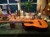 CLASSICAL NYLON STRING ELECTRO ACOUSTIC FESTIVAL GUITAR