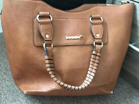 Bessie leather handbag