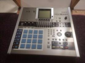 Roland MV8000 Production Studio - MPC-Style Sampler/Drum Machine/Workstation