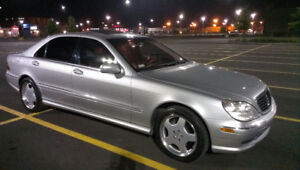 2002 S-CLASS AMG SPORT-PACKAGE