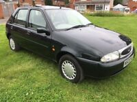 Ford Fiesta Ghia automatic 1 owner full history 26k rare