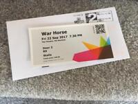 War Horse tickets / Marlowe Theatre - Fri 22 Sept 17