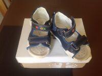 Boys infant leather sandal Geox size 6 F