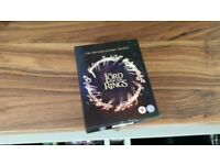 LORD OF THE RINGS Trilogy Bluray DVDs
