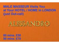 MALE MASSEUR offers Full Body MASSAGE at Your HOTEL/HOME (GAY FRIENDLY MASSAGE) Only OUT-CALL