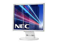 New NEC 17 inch LED Backlit Monitor - White