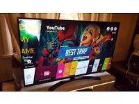 LG 55-inch Smart 4K ULTRA HDR LED TV- 55UH661V, built in Wifi,Freeview,Netflix,FULLY WORKING