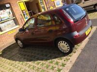 CORSA COMFORT 1.2 5 DOOR ONE PREVIOUS LADY OWNER ONLY 23500 MILES FSH NEW MOT GREAT CONDITION