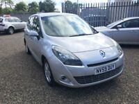 2009 Renault Grand Scenic 1.5 dCi Dynamique 5dr / 7 seats / Diesel / 1 Year MOT