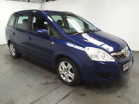 2008(58)VAUXHALL ZAFIRA 1.8 EXCLUSIV MET BLUE,LOW MILES,NEW MOT,7 SEATER,CLEAN CAR