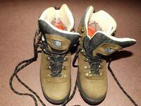 Karrimor Mens ksb Latitude eVent Mid Brown Walking Boots Size 10 Waterproof