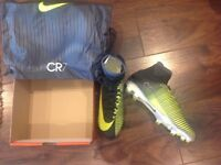 **Nike Mercurial Superfly CR7 football sock boots size 8.5 new rrp £265**
