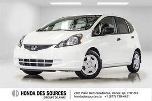 2013 Honda Fit DX-A 5AT * Tres BAS Millage *