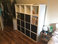 large white shelf - MUST SELL, MAKE AN OFFER