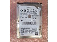 WANTED sata hard drive 2.5 inch 1 tb capacity