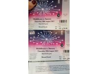 URGENT - CHEAP 2 x T20 Cricket tickets £30 for pair Middlesex v Sussex Lords Thursday 10th August