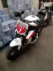 Triumph Street triple r stunt bike