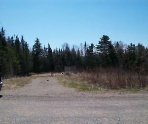 1 acre building lot 19 km from the centre of Grand Bay