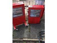 2 Clarke Industrial heaters bargain