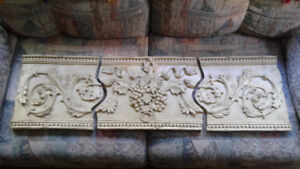 3 pc Wall Plaques