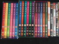 Bundle of 35+ DVDs