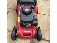 Mountfield petrol lawn mower, 12 months old
