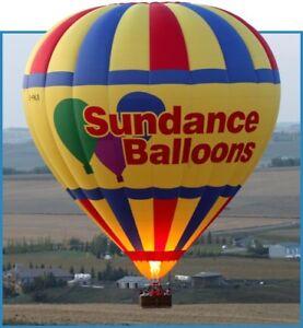 Hot air balloon promo on Sundance Balloon site