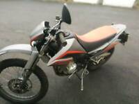 125cc enduro motorbike