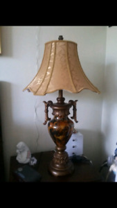 Pair of Side Table Lamps