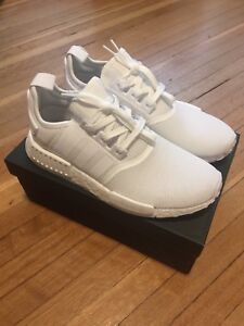 Adidas NMD R1 triple white Size 9US $240