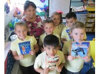 Join our team of volunteers supporting disadvantaged children with their reading & literacy skills.