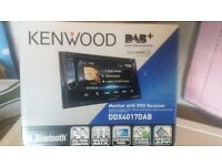 "Kenwood DDX4017DAB 6.2"" Double Din Car CD DVD Stereo BT iPod"