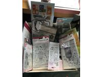 Job lot of card making/scrapbooking supplies