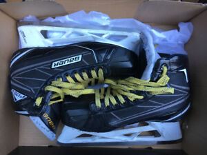 Goalie equipment bauer S170 Goalie skates S8E, Chest protector,