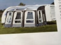 Kampa rally ace 400 awning brand new cost £500 will accept £350