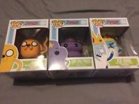 Adventure time funko pop bundle
