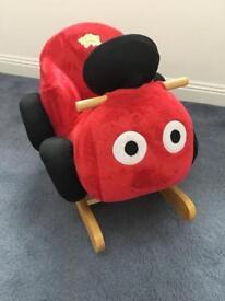 Buzzing Brains Musical Rocking Soft Toy Car