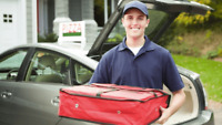 Full-time or part time delivery driver
