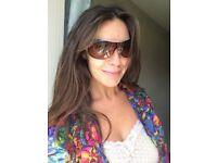 Genuine Bvlgari designer sunglasses