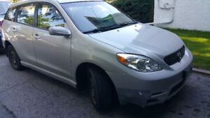 Well cared for, two owner 2004 Toyota Matrix 4WDXR Wagon