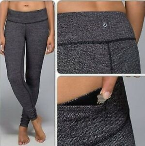 Lululemon Herringbone Wunder Under - Sz 4