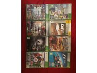 Xbox 360 with FIFA 17 and 7 other games
